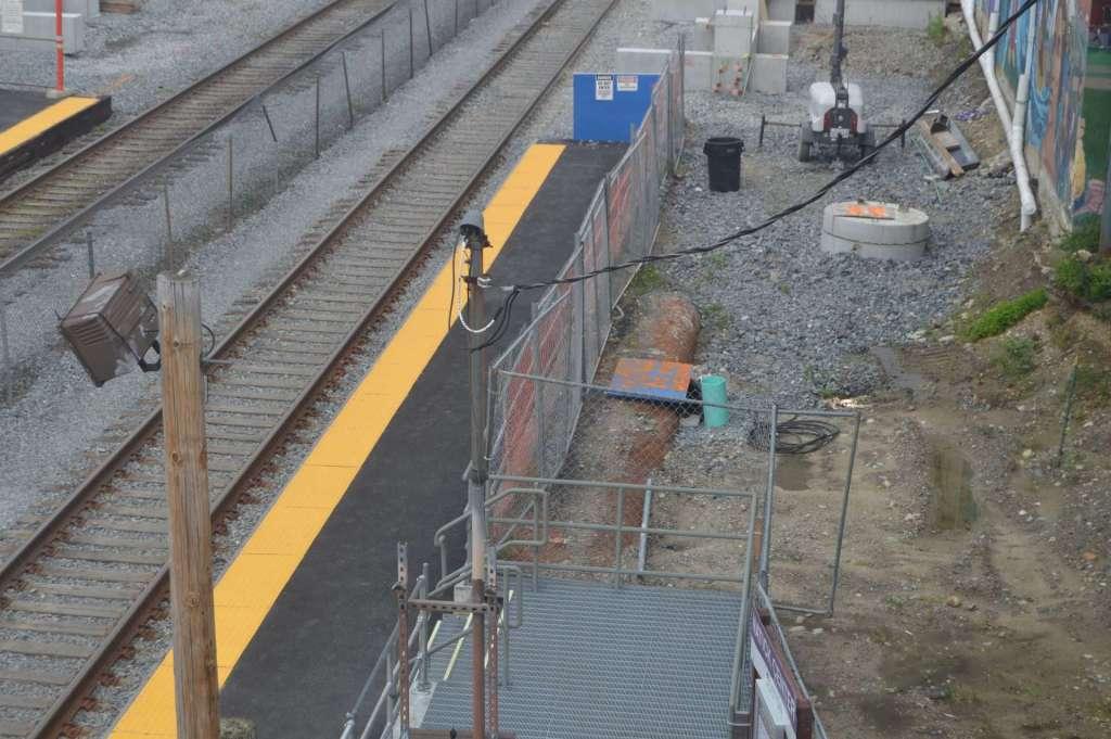 natick center station fence