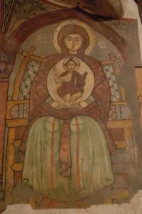 Icona copta della Vergine e Bambino, monastero di Sant'Antonio il Grande