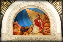 Cristo ha riplasmato in sé la natura umana (un monaco del deserto)