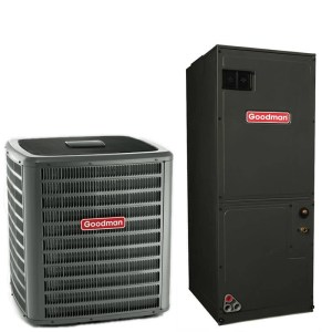 25 Ton Goodman 15 SEER R410A Variable Speed Air Conditioner Split System | National Air Warehouse