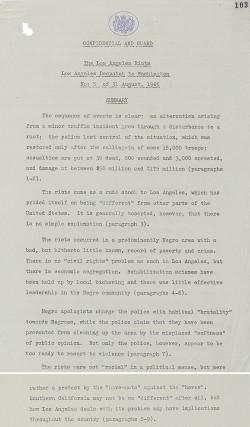 Research paper topics 1960s america
