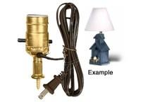 Lamp Making Kits with Medium Edison Style Sockets ...
