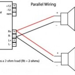 Car Sub Wiring Diagram Baldor Single Phase Motor With Capacitor Subwoofer Diagrams For Audio Bass Speakersnational Auto Above