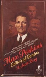 Book cover Max Perkins: Editor of Genius