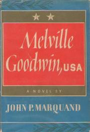 Cover of Melville Goodwin, USA by John P Marquand
