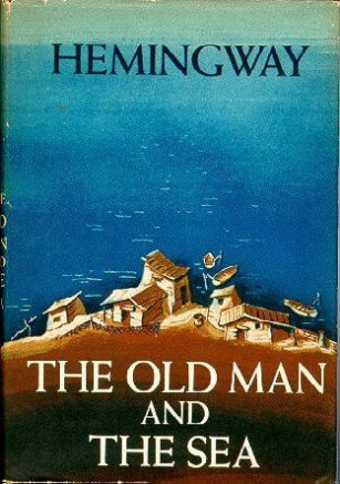 First edition cover of Ernest Hemingway's The Old Man and the Sea