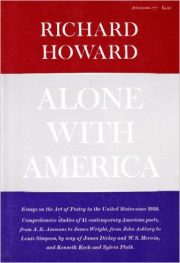 Cover of Alone With America by Richard Howard