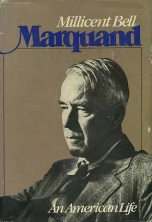 book jacket for Marquand: An American Life