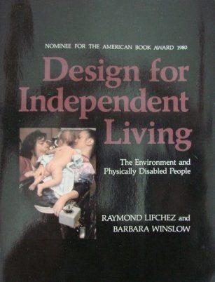 Book jacket for Design for Independent living