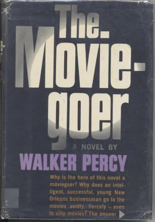 The Moviegoer by Walker Percy book cover