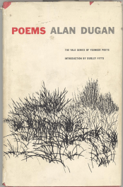 Poems by alan dugan book cover