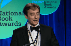 Evan Osnos accepts the 2014 National Book Award in Nonfiction for Age of Ambition