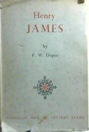 First Edition Cover of Henry James by F W Dupee