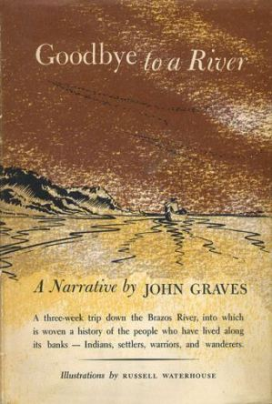 Goodbye to a River by John Graves book cover