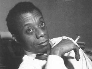 James Baldwin author photo