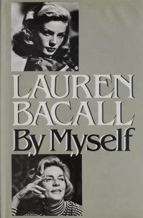 book jacket for Lauren Bacall By Myself