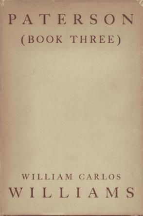 Paterson: Book Three, by William Carlos Williams book cover