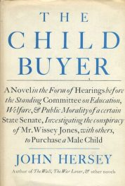The Child Buyer by John Hersey book cover