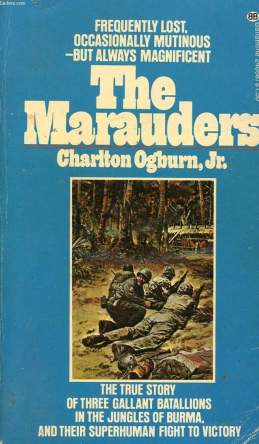 The Marauders by Charles Ogburn, Jr book cover