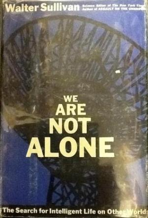 We Are Not Alone by Walter Sullivan book cover