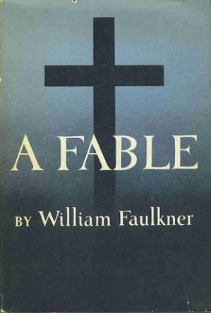 A Fable by William Faulkner book cover