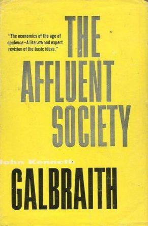 cover of Affluent Society by John Kenneth Galbraith
