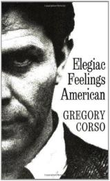 cover of Elegiac Feelings American by Gregory Corso