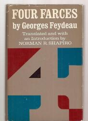cover of Feydeau's Four Farces translated by Norman Shapiro