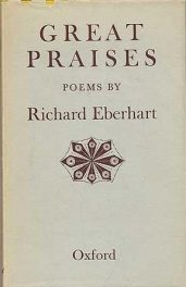 cover of Great Praises by Richard Eberhart