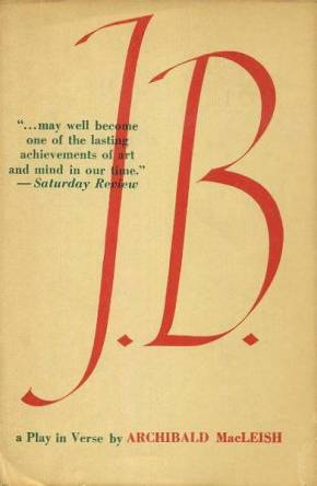 cover of J B by Archibald MacLeish