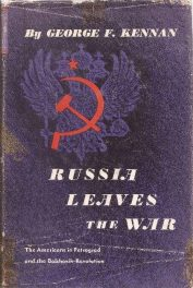cover of Russia Leaves the War by George F Kennan