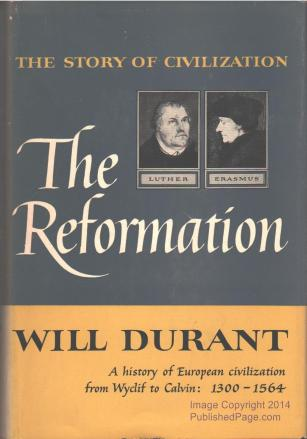 cover of The Reformation by Will Durant