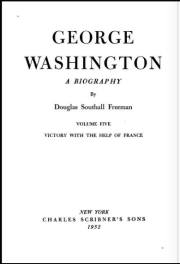George Washington A Biography Volume Five Victory With The Help Of France by Douglas Southall Freeman book cover