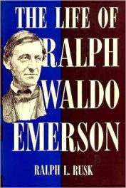 First edition cover of The Life of Ralph Waldo Emerson, by Ralph L. Rusk