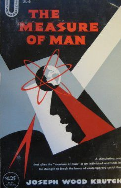Measure of Man by Joseph Wood Krutch book cover