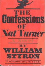 The Confessions of Nat Turner by William Styron book cover