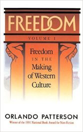 Freedom by Orlando Patterson book cover