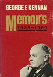 Memoirs- 1925-1950 by George F Kennan book cover