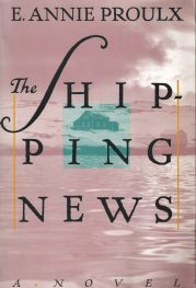 Shipping News by E Annie Proulx book cover