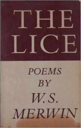 The Lice by w s merwin book cover