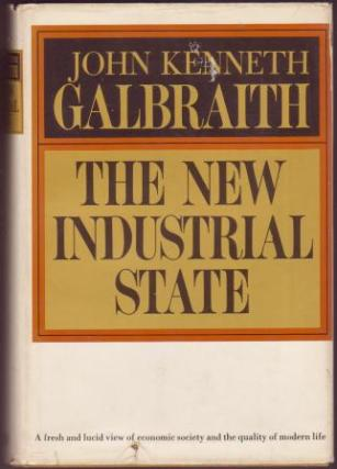 The New Industrial State by John Kenneth Galbraith book cover