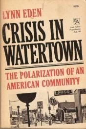cover of Crisis in Watertown by Lynn Eden