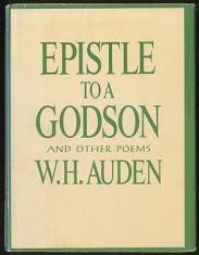 cover of Epistle to a Godson and Other Poems by W H Auden