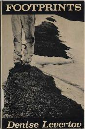 cover of FootPrints by Denise Levertov
