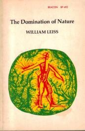 cover of The Domination of Nature by William Leiss