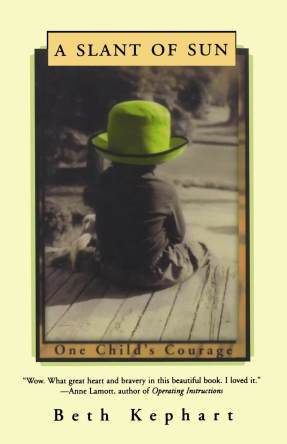 A Slant of Sun- One Child's Courage by Beth Kephart book cover