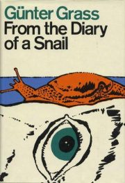 cover of Gunter Grass's From the Diary of a Snail translated by Ralph Manheim