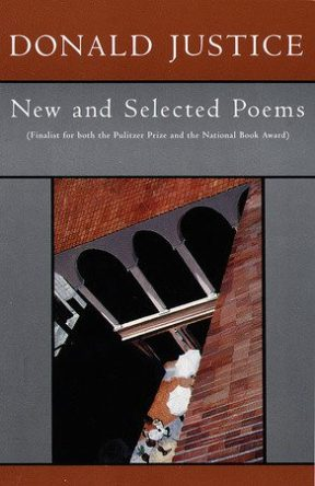 New and Selected Poems by donlad justice book cover