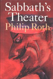 Sabbath's Theater by Philip Roth book cover