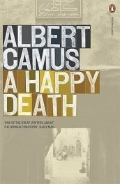 cover of Camus's A Happy Death translated by Richard Howard
